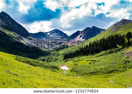 Colorado Mountain Vistas #1256774824