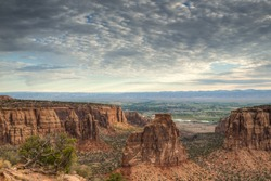 Colorado National Monument is a part of the National Park Service near the city of Grand Junction, Colorado.