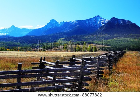 Colorado Ranch Fence