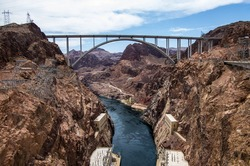 Colorado River Bridge - Bypass for the Hoover Dam