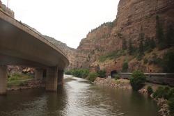 Colorado River & I70 shot from the Amtrak California Zephyr