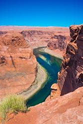 Colorado river in a canyon, Arizona