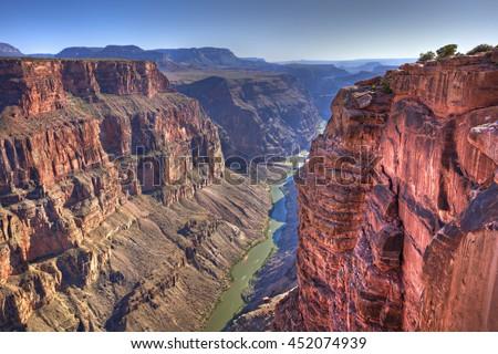 colorado river in grand canyon...