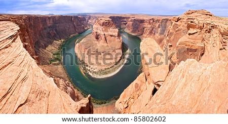 Colorado River in Horseshoe Bend.