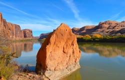 Colorado River, Moab, Utah.