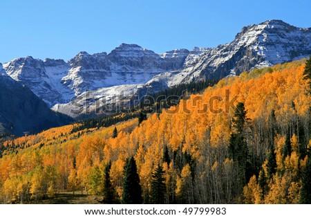 Colorado Rockies in Autumn