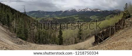 colorado rockies panorama #1218750334