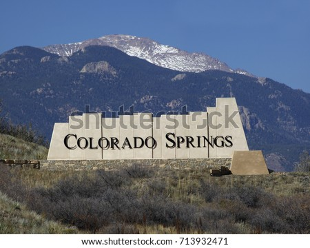 Colorado Springs Entry Monument #713932471