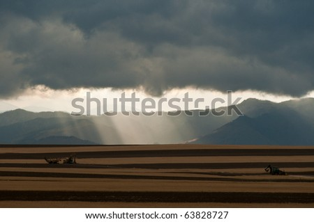 Colorado Storm Over The Foothills