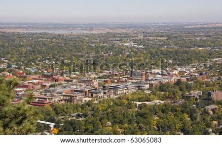 Colorado University Aerial View