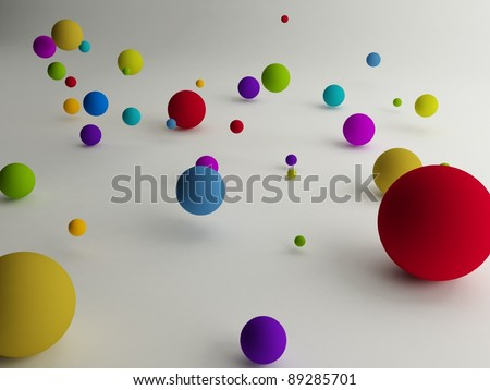 colored ball