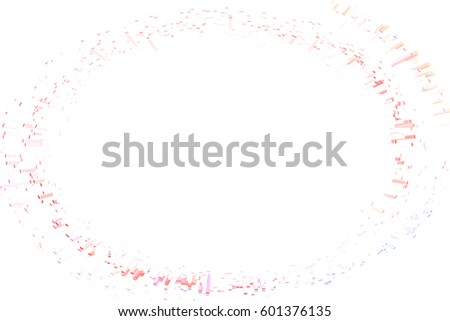 Colored circles on  background abstract