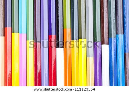 colored crayon