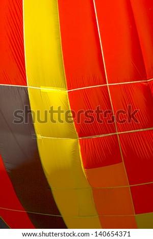 colored hot air balloon