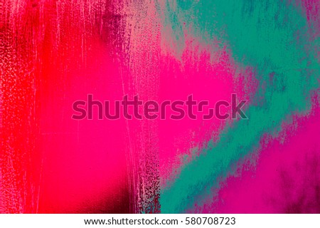 Colored wall rainbow style background texture