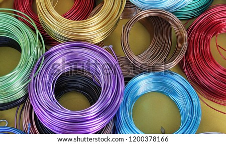 colored wire rolls #1200378166