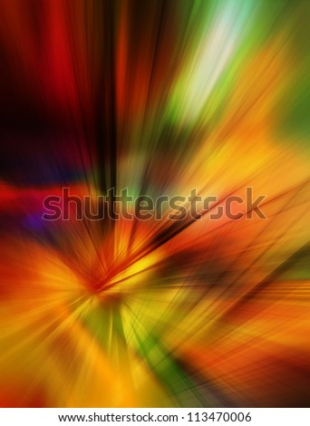 Colorful abstract background in red, orange, green and yellow colors.