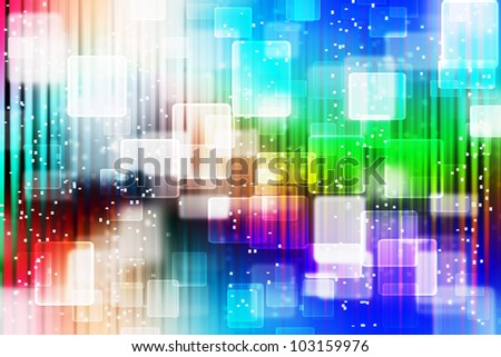 Colorful Abstract background with bokeh effect.
