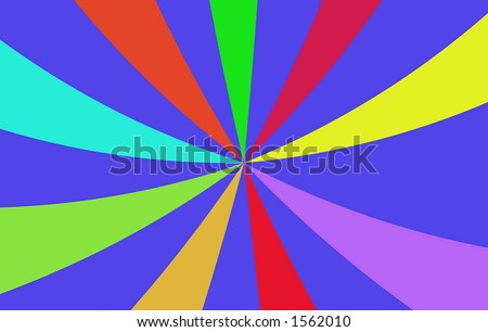 colorful abstract, computer generated