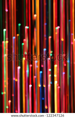 Colorful Abstract Line Blur