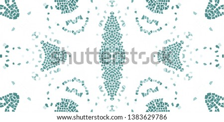 Colorful abstract mosaic pattern for textile and design