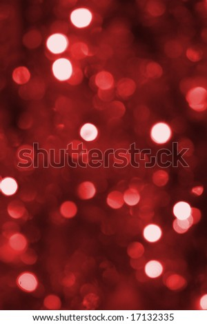 colorful abstract red holiday lights background