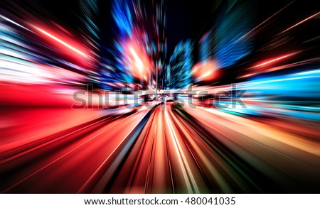 Colorful acceleration speed motion background
