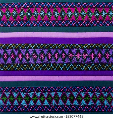 Colorful african peruvian style rug surface close up. More of this motif & more textiles in my port.
