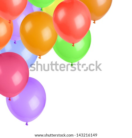 Colorful air balloons