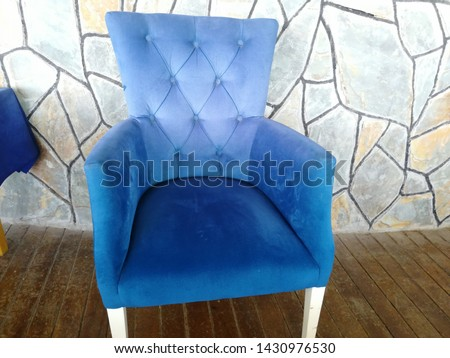 Colorful and comfortable armchair and armchairs #1430976530
