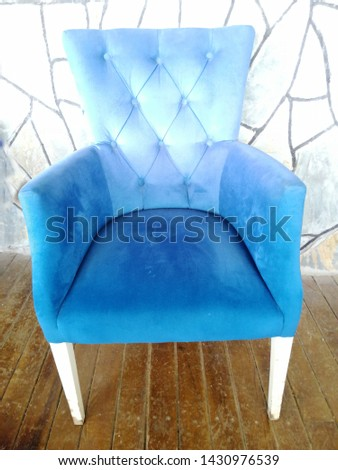 Colorful and comfortable armchair and armchairs #1430976539