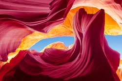 Colorful Antelope Canyon