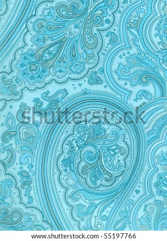 colorful arabesque style ornamented background. More of this motif & more ornaments in my port