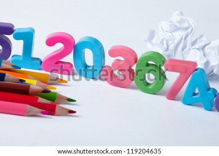 Colorful Assorted Numbers