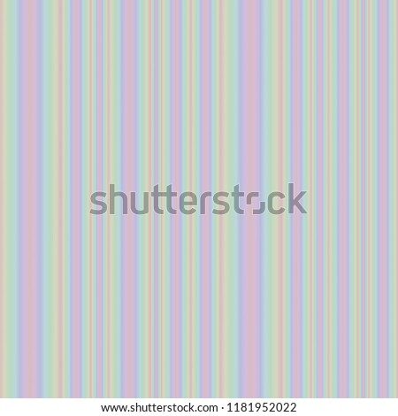 Colorful background made of pastel colored blurred stripes. Seamless pattern. Striped texture. Wallpaper, fabric design. #1181952022