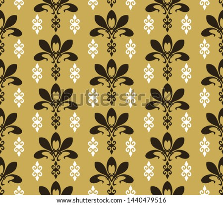 Colorful background pattern. Retro pattern in modern style. Illustration ornament wallpaper background. Abstract seamless texture. Template for fabric design
