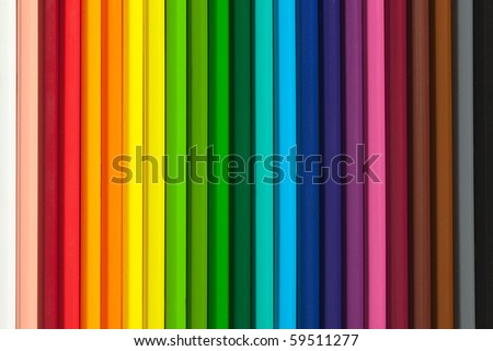 colorful background with crayons