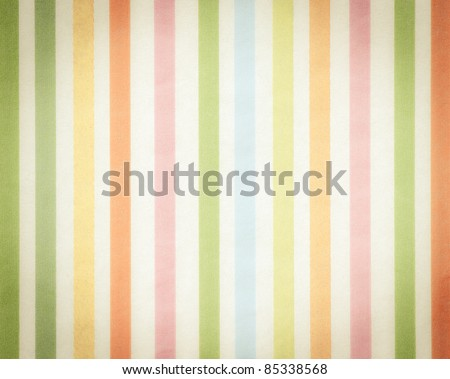 colorful background with soft faded rainbow-colored vertical stripes - stock photo