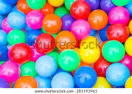 colorful ball full