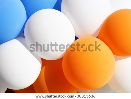 Colorful balloons, may be used as background