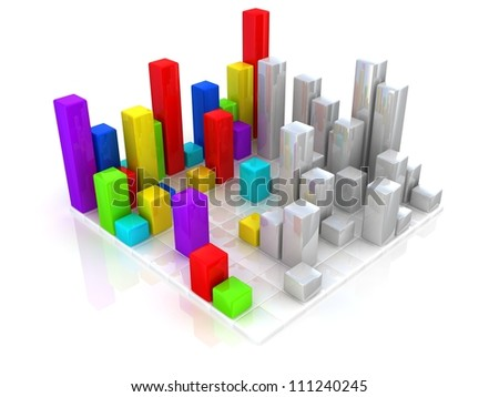 Colorful bar graphs