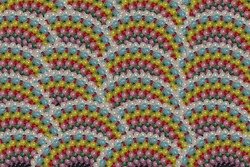 colorful beads background, ball colors, glass headed pins, design elements texture mandala, fish skin texture