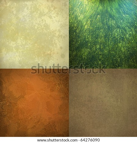 colorful block background with warm earth tones