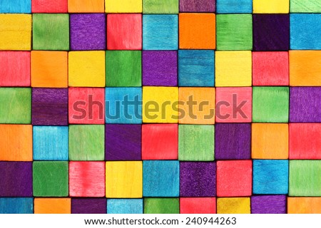 Stock Photo colorful blocks