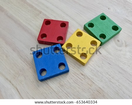 Colorful blocks #653640334