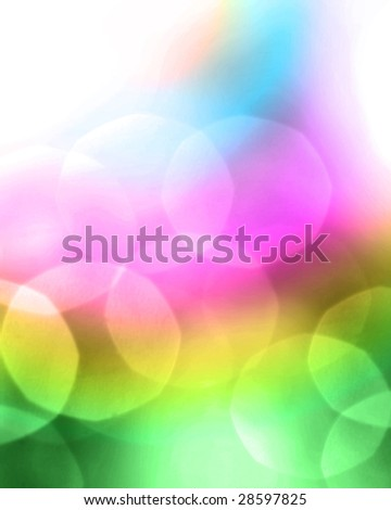 Colorful Blur Abstract
