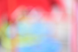 colorful blur background, Abstract blurred gradient mesh background in bright rainbow colors