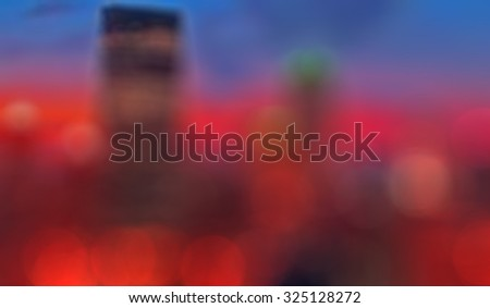 Colorful Blurred Night Bokeh Background. Bokeh Wallpaper.