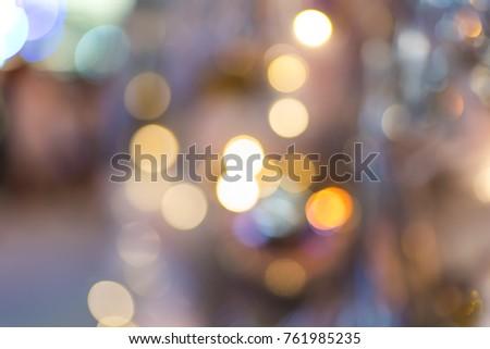 colorful Bokeh backgorund blurred./ Bokeh #761985235