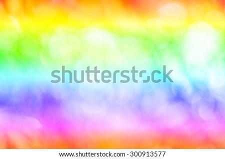 colorful bokeh background, Defocused Bokeh color Vintage background.
